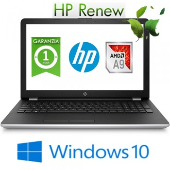 Notebook HP 15-bw063nl AMD Dual-Core A9-9420 RAM 8GB 1TB 15.6' BV LED Windows 10 HOME