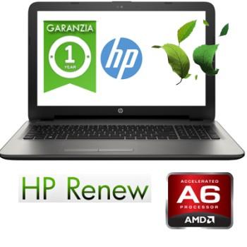 Notebook HP 15-ba044nl AMD A6-7310 RAM 4GB 500GB 15.6' AMD Radeon R5 M430 2GB Windows 10 HOME