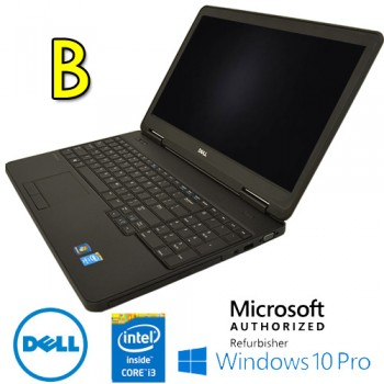 Notebook Dell Latitude E5540 Core i3-4010U 1.7GHz 4Gb 500Gb 15.6' DVD-RW TAST NUM  Windows 10 Pro [Grade B]