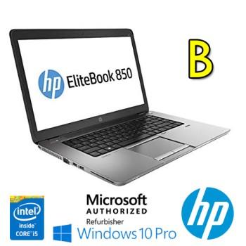 Notebook HP EliteBook 850 G1 Core i5-4310U 8Gb 256Gb SSD 15.6' FHD AG LED TS Windows 10 Pro [Grade B]
