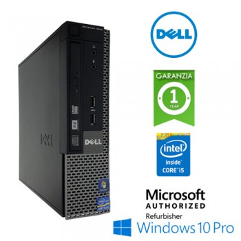 PC Dell Optiplex 7010 USFF Core i5-3470s 2.9GHz 4Gb 320Gb DVDRW Windows 10 Professional USFF