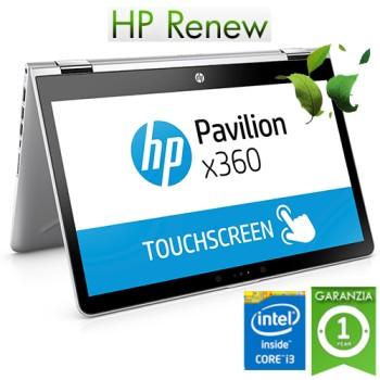 Notebook HP Pavilion x360 14-ba030nl Intel Core i3-7100U 8Gb 256Gb SSD 14' HD Touchscreen Windows 10 HOME