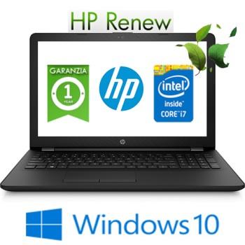 Notebook HP 15-bs517nl Intel Core i7-7500U 12Gb 1Tb 15.6' HD LED AMD Radeon 530 2GB Windows 10 HOME