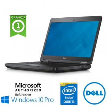 Notebook Dell Latitude E5440 Core i3-4030U 4Gb 500Gb 14.1' DVD-RW WEBCAM Windows 10 Professional
