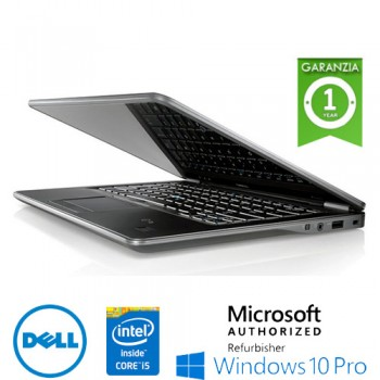 Notebook Dell Latitude E7240 Core i5-4300U 8Gb 256Gb SSD 12.5'  WEBCAM Windows 10 Professional