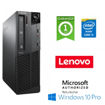 PC Lenovo ThinkCenter M92p Core i5-3470 3.2GHz 4Gb Ram 500Gb DVD Windows 10 Professional DESKTOP