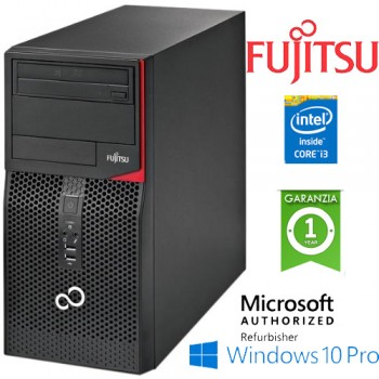 PC Fujitsu ESPRIMO P420 E85+ Core i3-4130 3.4GHz 4Gb Ram 500Gb DVD-RW Windows 10 Professional Tower