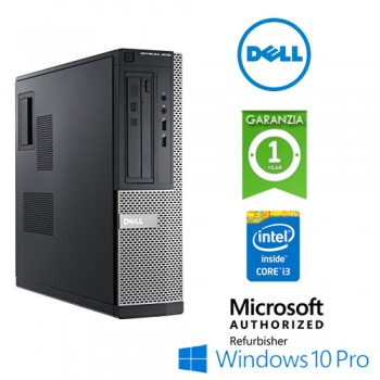 PC Dell Optiplex 3010 DT Core i3-3245 3.4GHz 4Gb 500Gb DVD-RW Windows 10 Professional DESKTOP