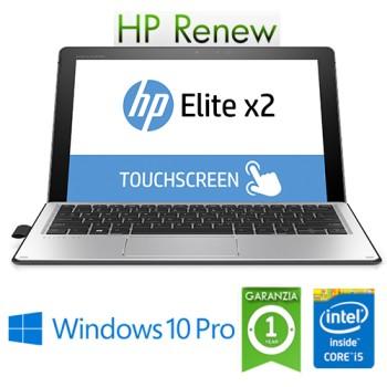 Notebook HP Elite x2 1012 G2 i5-7300U 2.6GHz 8Gb 512Gb SSD 12.3' Touch  Ibrido (2 in1) Windows 10 Professional