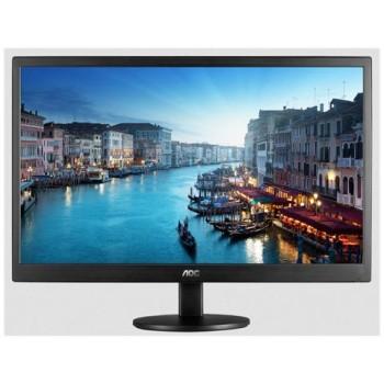 MONITOR AOC LCD LED 19.5 WIDE E2070SWN 5ms 0.27 1600x900 600:1 BLACK VGA Vesa