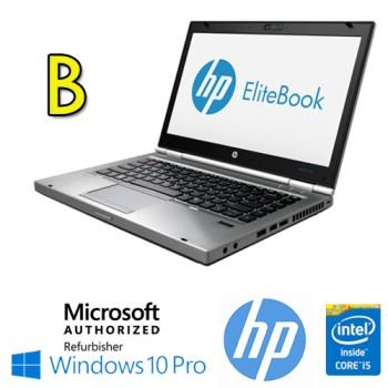 Notebook HP EliteBook 8470p Core i5-3230M 2.6GHz 4Gb Ram 320Gb 14.1' LED HD DVD-RW Windows 10 Pro [GRADE B]