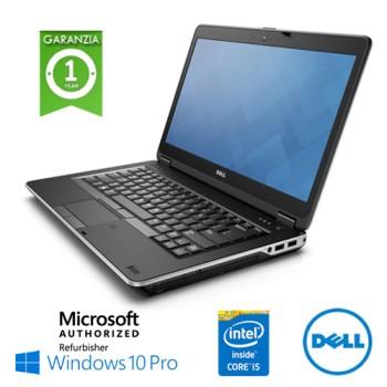 Notebook Dell Latitude E6440 Core i5-4310M 8Gb 500Gb 14.1' DVD-RW  Windows 10 Professional