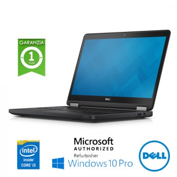 Notebook Dell Latitude E5250 Core i3-5010U 2.1GHz 8Gb 500Gb 12.5' LED WEBCAM Windows 10 Professional