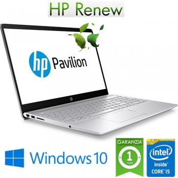 Notebook HP Pavilion 15-ck045nl i5-8250U 16Gb 512Gb 15.6' Nvidia GeForce 940MX 2GB Windows 10 HOME