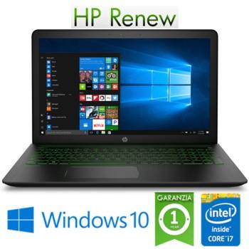 Notebook HP Pavilion Power 15-cb033nl i7-7700HQ 16Gb 1Tb 15.6' FHD NVIDIA GeForce GTX 1050 4GB Windows 10 HOME