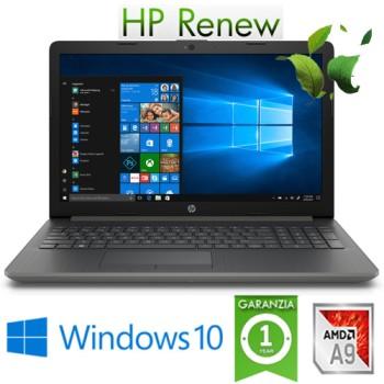 Notebook HP 15-db0011nl AMD A9-7425 3.1GHz 8Gb 1Tb 15.6' HD DVD-RW Windows 10 HOME
