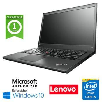 Notebook Lenovo Thinkpad T440 Core i5-4300U 8Gb 180Gb SSD 14.1' WEBCAM Windows 10 HOME