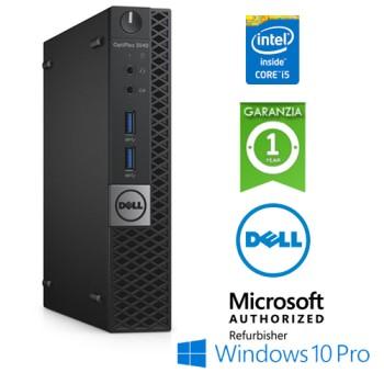 PC Dell Optiplex 3040 USFF Core i5-6500T 2.5GHz 8Gb Ram 500Gb No ODD Windows 10 Professional