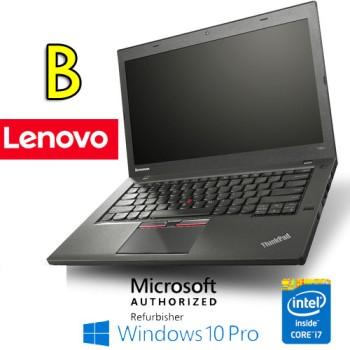 Notebook Lenovo Thinkpad T450 Core i7-5600U Quinta Gen. 8Gb 500Gb 14.1' Windows 10 Professional [Grade B]