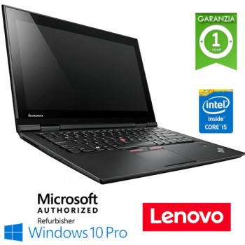 Notebook Lenovo Thinkpad X1 Carbon Core i5-5300U 8Gb Ram 256Gb SSD 14' Windows 10 Professional