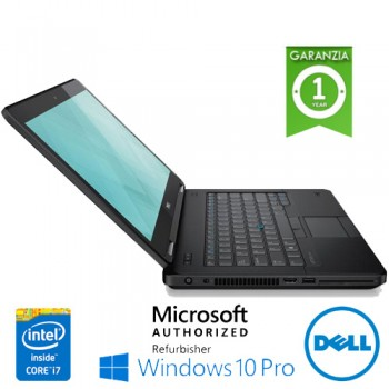 Notebook Dell Latitude E5450 Core i5-5200U 2.3GHz 8Gb 500Gb 14' WEBCAM Windows 10 Professional