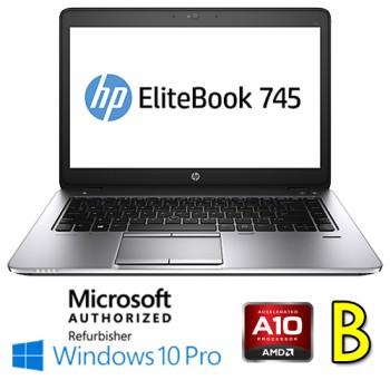 Notebook HP EliteBook 745 G2 AMD A10-7350B R6 8Gb 256Gb SSD 14' HD Windows 10 Professional [Grade B]