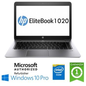 Notebook HP EliteBook Folio 1020 G1 M-5Y71 8Gb 256Gb SSD 14' Windows 10 Professional