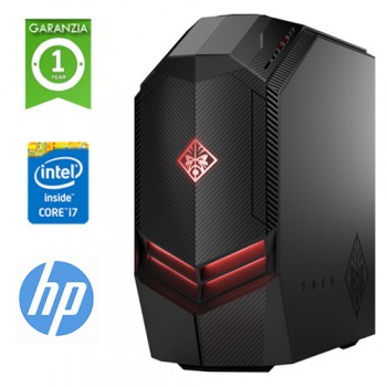 PC HP Pavilion 880-102NL Core i7-8700K 3.7GHz 16Gb Ram 1Tb + 256GB SSD DVD-RW GEFORCE GTX 1060 2GB Win 10 HOME