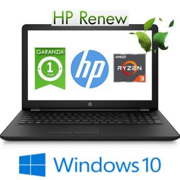 Notebook HP 15-db0025nl AMD RYZEN3-2200U 2.5GHz 12Gb 1TB 15.6' HD DVD-RW AMD Radeon 530 2GB Windows 10 HOME
