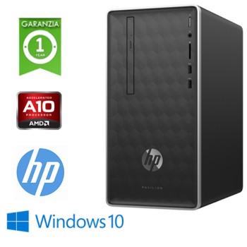 PC HP Pavilion 590-P0008NL AMD A10-9700 3.5GHz 8Gb 1Tb DVD-RW GEFORCE GT 1030 2GB Windows 10 HOME