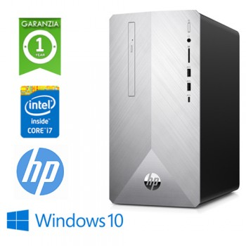 PC HP Pavilion 595-P0009NL Core i7-8700 3.2GHz 8Gb 1Tb + 16GB SSD DVD-RW GEFORCE GTX 1050 2GB Win 10 HOME