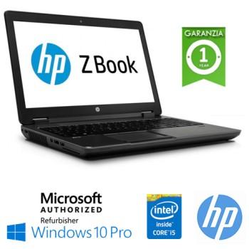 Mobile Workstation HP ZBOOK 14 Core i5-5200U 8Gb 256Gb SSD 14.1' HD FIREPRO 4150 1600x900 Win 10 Pro