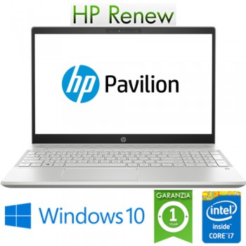 Notebook HP Pavilion 15-CS0026nl i7-8550U 8Gb 512Gb SSD 15.6' FHD NVIDIA GeForce MX 150 2GB Windows 10 HOME