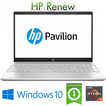 Notebook HP Pavilion 15-CW0999NL RYZEN5-2500U 8Gb 1Tb + 128Gb SSD 15.6' HD Windows 10 HOME