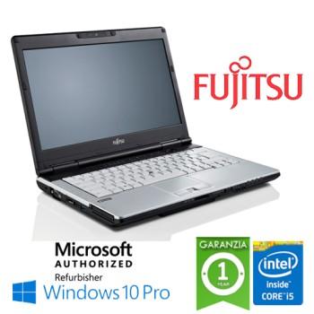 Notebook Fujitsu Lifebook S781 Core i5-2450M 4Gb Ram 240Gb SSD DVD-RW 14.0' Windows 10 Professional
