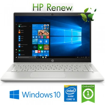 Notebook HP Pavilion 14-ce1009nl i3-8145U 4Gb 128Gb SSD 14' FHD Windows 10 HOME