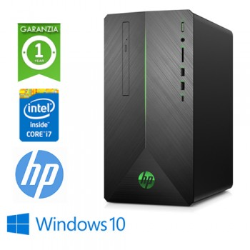PC HP Pavilion 790-0000NL Core i7-8700 3.2GHz 8Gb 1Tb+128Gb SSD DVD-RW GEFORCE RTX 2070 8GB Windows 10 HOME