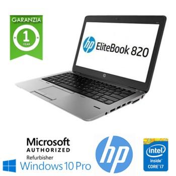 Notebook HP EliteBook 820 G2 Core i7-5600U 8Gb 500Gb 12.5' HD AG LED Windows 10 Professional Leggero