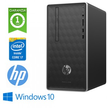 PC HP Pavilion 590-P0005NL intel Core i7-8700 3.2GHz 8Gb 1Tb DVD-RW GEFORCE GT 1030 2GB Windows 10 HOME