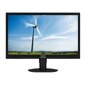 Monitor PC LCD Philips 241S4 24 Pollici 1920x1080 FHD Wide VGA DVI Black