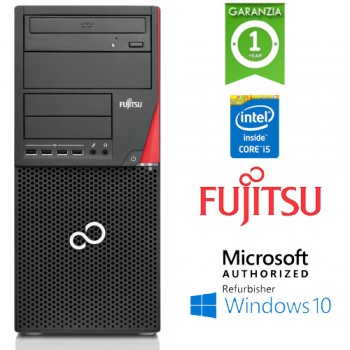 PC Fujitsu ESPRIMO P720 i5-4590 3.4GHz 8Gb Ram 500Gb DVD-RW Windows 10 Professional TOWER