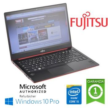 Notebook Fujitsu LifeBook U772 Core i5-3337U 8Gb Ram 128Gb SSD 14.4' Windows 10 Professional LEGGERO