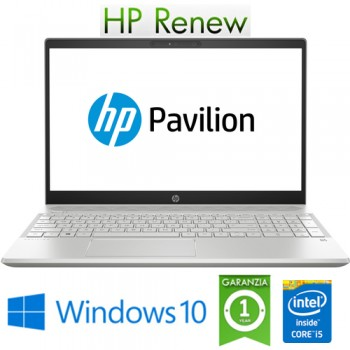 Notebook HP Pavilion 15-CS2105nl i5-8265U 8Gb 512Gb SSD 15.6' FHD NVIDIA GeForce MX130 2GB Windows 10 HOME