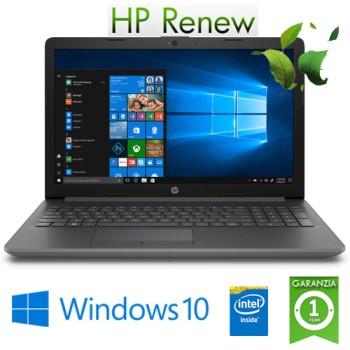 Notebook HP 15-da0105nl Intel Celeron N4000 1.1GHz 4Gb 500Gb 15.6' HD DVD-RW Windows 10 HOME