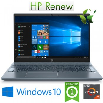 Notebook HP Pavilion 15-CW1038NL RYZEN3-3300U 8Gb 1128Gb SSD 15.6' FHD Windows 10 HOME