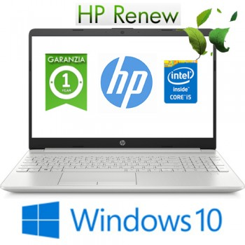Notebook HP 15-dw0021nl Core i5-8265U 1.6GHz 8Gb 256Gb SSD 15.6' HD LED Windows 10 HOME