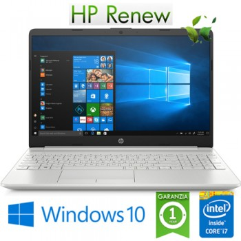 Notebook HP 15-dw0120nl Core i7-8565U 1.6GHz 8Gb 512Gb SSD 15.6' FHD Nvidia GeForce MX130 Windows 10 HOME