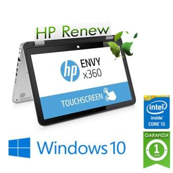 Notebook HP Envy X360 15-CN1000NL Core i5-8265U 16Gb 512Gb SSD 15.6' FHD TS GeForce MX 150 4GB Windows 10 HOME