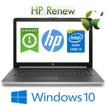 Notebook HP 15-da1004nl Core i5-8265U 1.6GHz 8Gb 512Gb SSD 15.6' HD NVIDIA GeForce MX110 2GB Windows 10 HOME