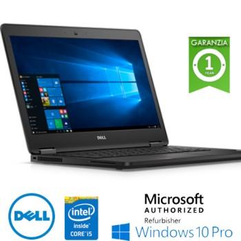 Notebook Dell Latitude E5470 Core i5-6200U 8Gb 500Gb 14.1' WEBCAM Windows 10 Professional